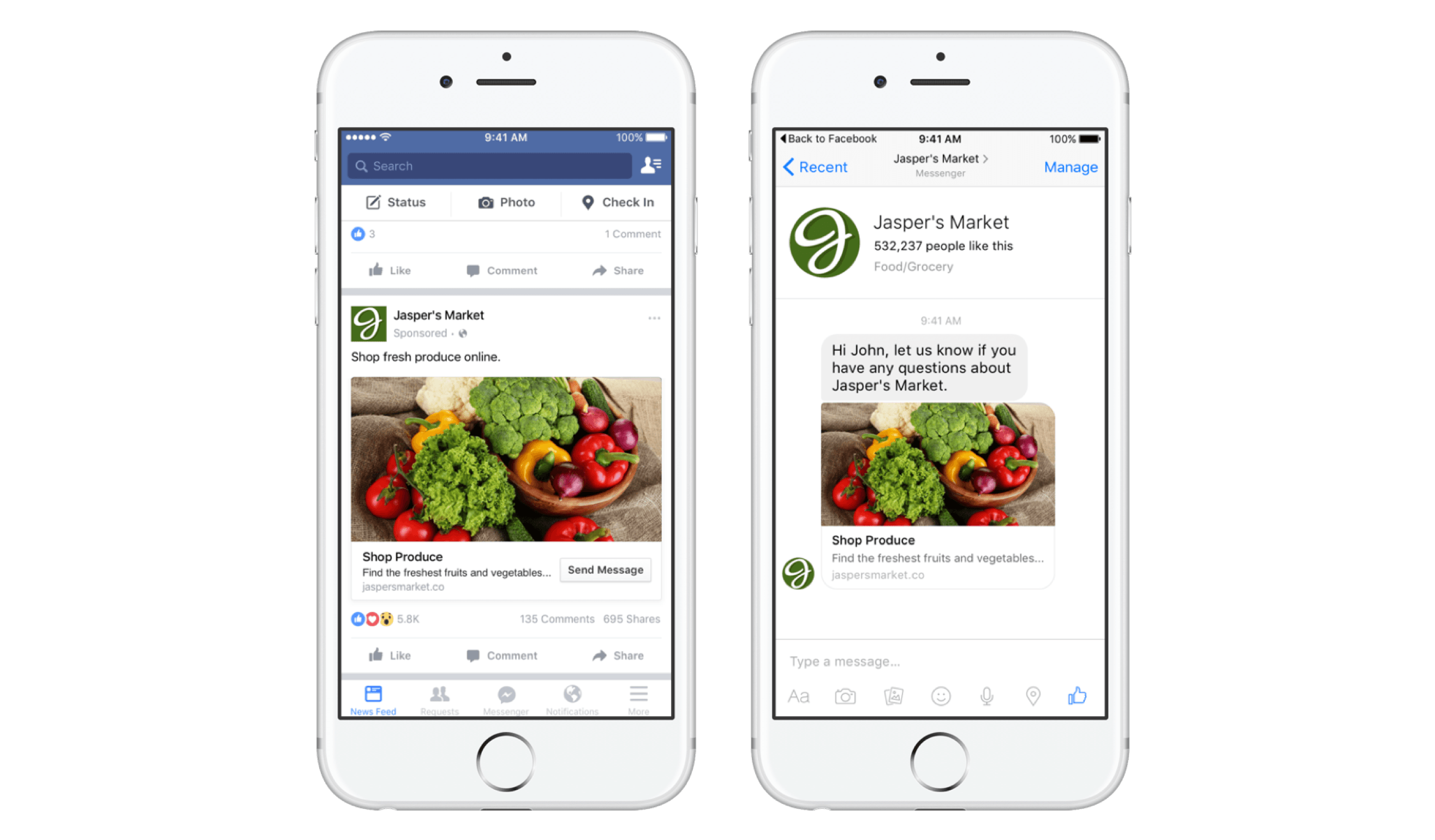 How to create a sponsored Advert on Facebook ?